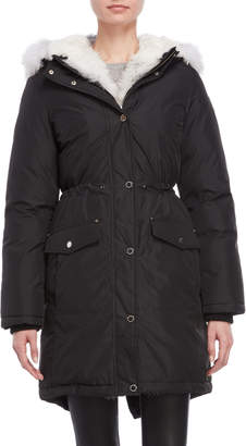 Pajar Canada Evangeline Real Fur Trim Mid-Length Down Parka