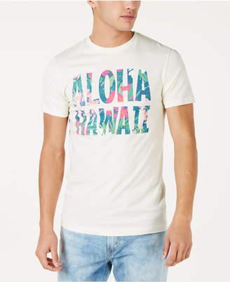 Aloha Hawaii Men Floral Graphic T-Shirt