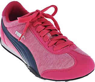 Puma Jersey Knit Lace-up Sneakers - 76 RunnerFun