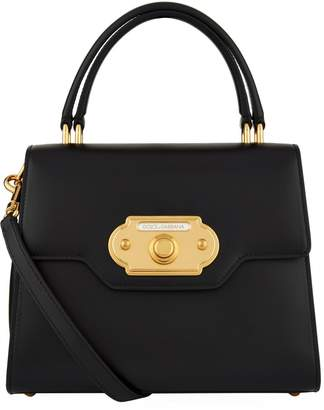 Dolce & Gabbana Leather Welcome Top Handle Bag