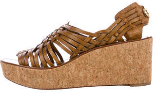 Tory Burch Tory Burch Woven Wedge Sandals