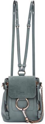 Chloé Blue Mini Faye Backpack