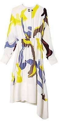Tibi Women's Ant Farm Print Panel Dress - Size 0