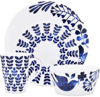 Noritake Sandefjord Porcelain 4-Pc. Coupe Place Setting