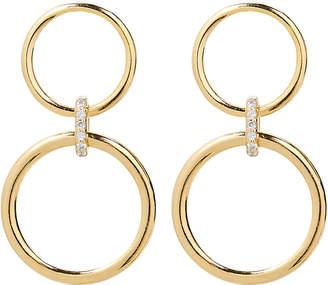 ela rae Double Circle Drop Earrings