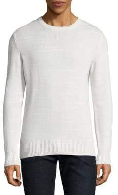 Eleventy Scratch Effect Crewneck Sweater