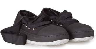 Marni Lace-up Canvas Ballet-sneakers