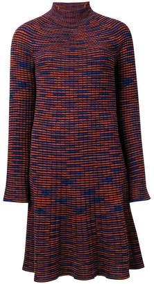 M Missoni longsleeved knitted dress