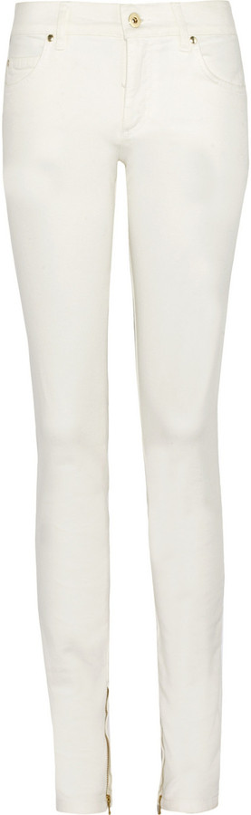 Valentino Mid-rise skinny jeans