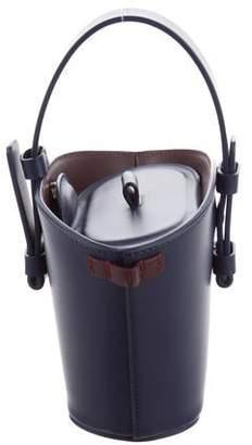 Nico Giani Leather Mini Bucket Bag