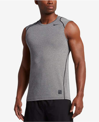 Nike Men's Pro Cool Dri-FIT Fitted Sleeveless Shirt $28 thestylecure.com