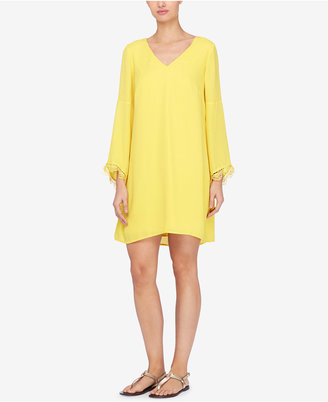 Catherine Catherine Malandrino Bell-Sleeve Shift Dress $118 thestylecure.com