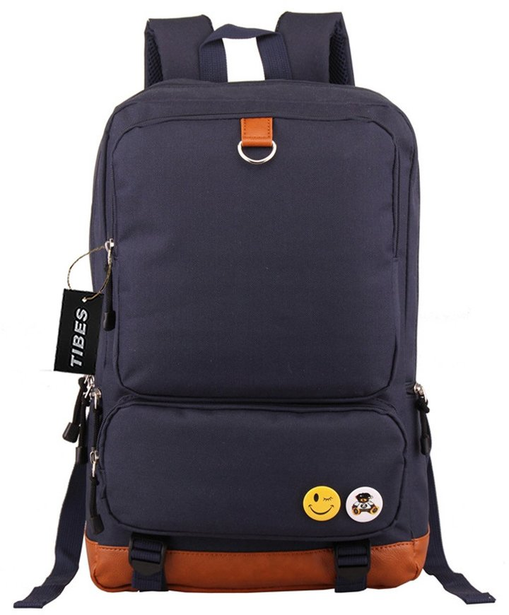 Tibes Large School Backpack with Laptop Compartment for Men