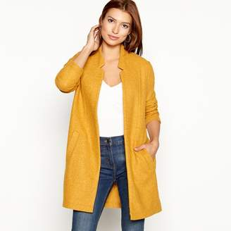 Casual Club The Collection - Dark Yellow Textured Lightweight Coatigan