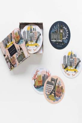 Rifle Paper Co. Cities Coasters
