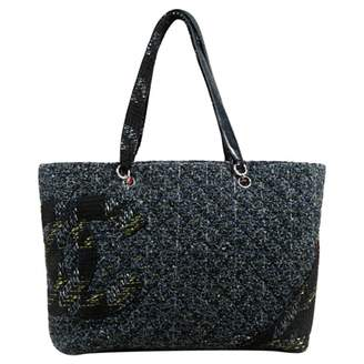 Chanel Cambon tweed handbag