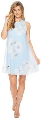 Calvin Klein Floral Print Trapeze CD8H3C2R Women's Dress