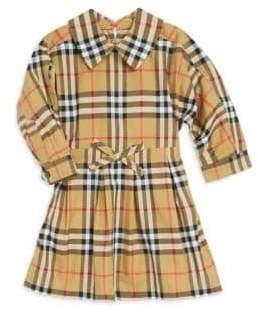 Burberry Baby Girl's& Little Girl's Plaid Cotton Dress