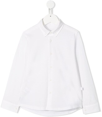 Il Gufo long-sleeve fitted shirt