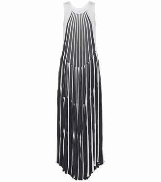 Chloé Cotton-blend striped dress