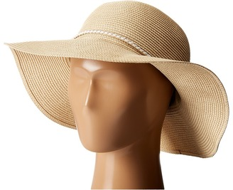 Hat Attack Fine Braid Sunhat with Tubular Cord Trim $90 thestylecure.com