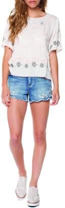Dex Eyelet Shorts