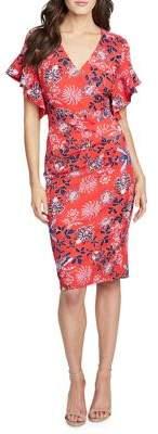 Rachel Roy Capri Printed Day Dress