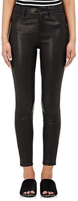 L'Agence Women's Adelaide Leather Skinny Pants