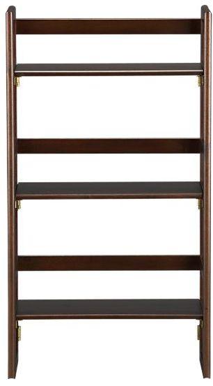 Folding Walnut Bookcase