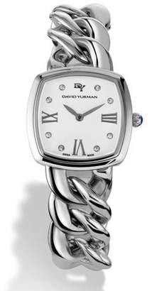 David Yurman Albion 27mm Quartz with Diamonds $2,100 thestylecure.com