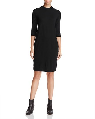 Eileen Fisher Mock-Neck Jersey Dress $198 thestylecure.com