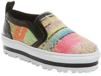 MSGM Woven Slip-On Sneaker