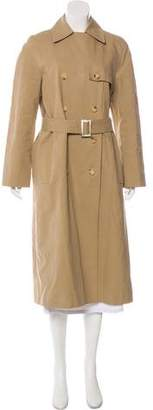 Celine Double-Breasted Trench Coat