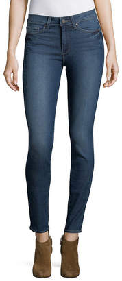 Paige Whiskered Skinny Jeans