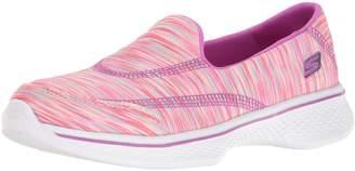 Skechers Girls' GOwalk 4 Walking Shoe Size 3.5 M