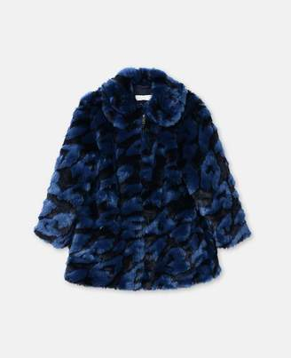 Stella McCartney hearts pattern coat