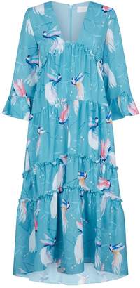 DAY Birger et Mikkelsen Borgo De Nor Iris Birds of Paradise Dress