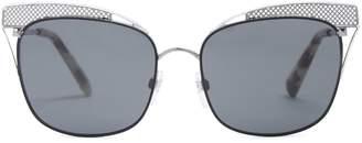 Valentino Cat-eye metal sunglasses