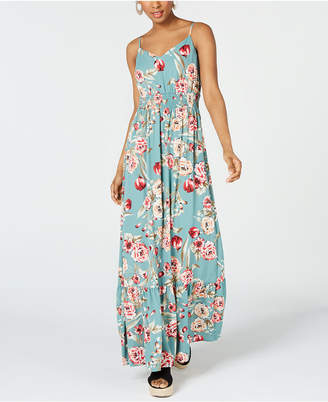 fa4c7431d0a City Studios Juniors  Floral-Print Maxi Dress