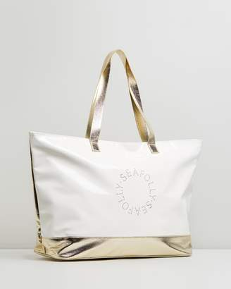 Seafolly Perforated Logo Tote Bag