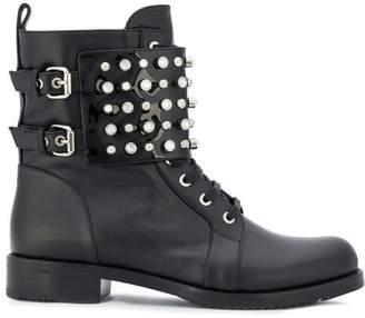 Loriblu studded ankle boots