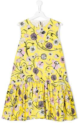 Emilio Pucci Junior patterned sleeveless dress
