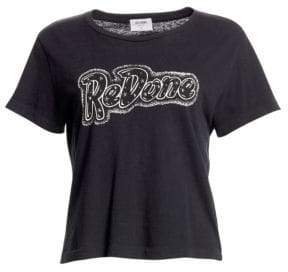 RE/DONE Studded Logo Tee