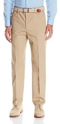 Savane Men's Flat Front Khaki Dress Pant