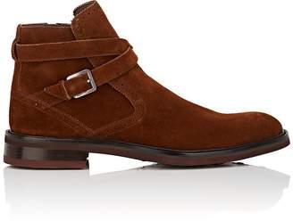 Salvatore Ferragamo Men's Becker Suede Jodhpur Boots