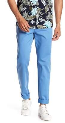 Louis Raphael Flat Front Twill Chino Pants