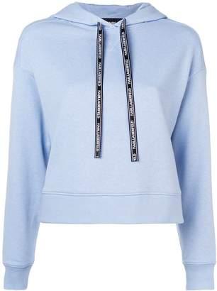 Karl Lagerfeld Paris contrast back hoodie