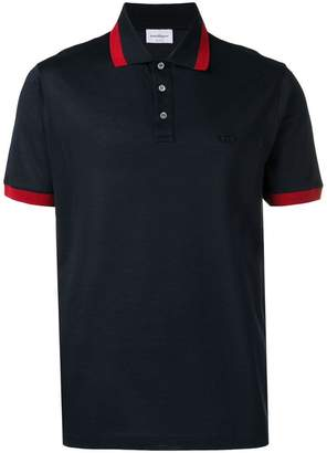 Salvatore Ferragamo Gancini polo shirt