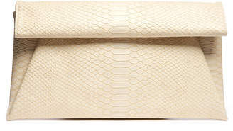 Urban Expressions Foldover Snake Clutch