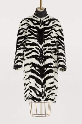 Alexander McQueen Velvet coat